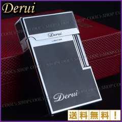 フリントガス ライター シンプルデザイン Derui 最高級 ホスト