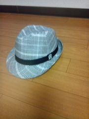 新品 ドクロ帽子ギャル男にSIZE52cm 送料込み