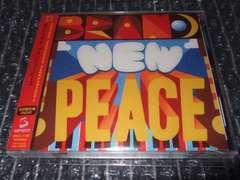 ホフディラン『NEW PEACE』初回盤DVD付(ワタナベイビー,かせきさいだぁ≡)
