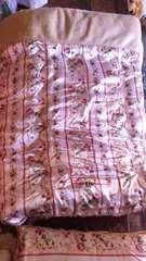 温ったかポリエステル100%掛け布団.枕.ボアシーツ三点セット