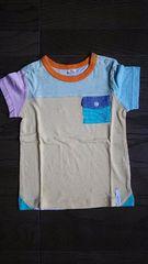 美品 ラキエーベ キムラタン キッズ カラフル半袖Tシャツ サイズ95