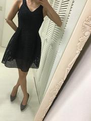 パーティーミニドレス ブラック