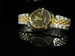 腕時計 コンビ・ブラック/デイトジャスト好きに