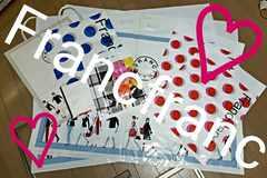 【Francfranc★ショップ袋】#紙袋#ビニール袋#雑貨#お洒落#花柄