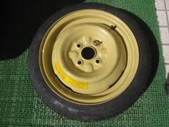 [美品/未使用]スズキワゴンR(MC11S) 純正応急用テンパータイヤ