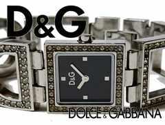 極希 1スタ★ドルチェ&ガッバーナ/D&G 定価3.5万 ブレス 腕時計