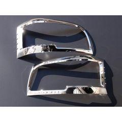 クロームメッキヘッドライトリング ハイエース 200系