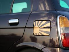 旭日旗日章旗ステッカー給油口にジュークグロリアシーマシルビアスカイラインキューブZ