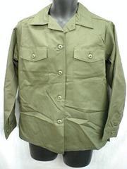 US ミリタリー ファティーグシャツ 14R 未使用品 デッドストック