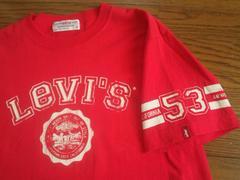 ¶Levi's RED TAB[リーバイス・レッドタブ]★プリントTシャツ メンズM/送\90〜