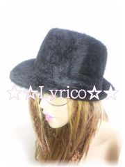 EXILE・敬浩着★LUXURY design♪angora-HAT