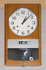 昭和レトロSEIKO 30日巻きゼンマイ振り子時計動作品です。