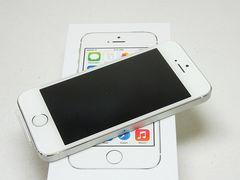 ◆安心保証◆判定○◆新品即決◆iPhone5s 32GB シルバー◆