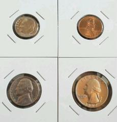 ★ 海外古銭 ★ アメリカ 4枚セット 格安 送無 ビンテージ