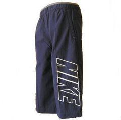 新品●NIKE 紺色七分丈パンツ 130cm