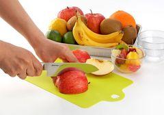 食材使い分け 軽量 薄型 ミニシート まな板 フルーツ 緑