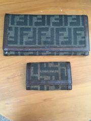 正規品FENDI長財布とキーケース