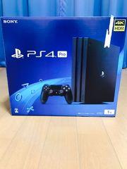 PlayStation4 Pro JetBlack 1TB 新品未開封 スタンド付