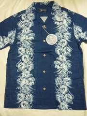 新品!和柄半袖シャツ アロハシャツハワイアンシャツ