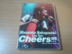 中河内雅貴DVD「Live Tour 『Cheers!!!』」テニスの王子様●