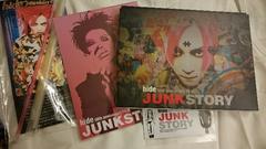 hide「JUNK STORY」限定ブルーレイ/ポスカ+マグネット+おまけ付/X JAPAN
