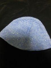新品 ニット帽 帽子 ハット かぎ編み ハンドメイド 変幻自在