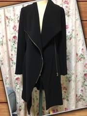 H&M 黒コート 新品タグ付き 定価7999円 これからの季節に☆