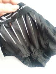 新品GABRIEL HOMME透けストライプ マイクロボクサーパンツ黒XL