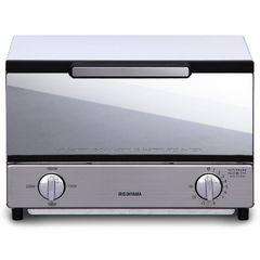 アイリスオーヤマ オーブントースター トースト2枚 ミラー調