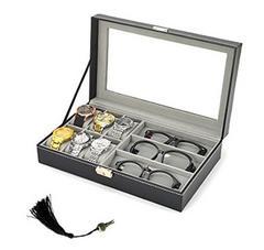 きっちり収納♪腕時計・メガネ収納ボックス コレクションケース