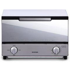 オーブントースター トースト2枚 ミラー調