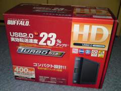 BUFFALO 400GB HD-CS400U2 バッファロー