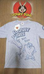 セール 新品[ルーニー・テューンズ]ロードランナー&タズマニアンデビル半袖Tシャツ スカ好きも