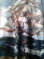 『船』サルバドール・ダリ 芸術