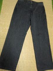 パパス 上質黒パンツ
