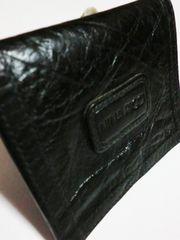 【セール】美品ニナリッチ/NINA RICCI 革製コインケース(黒)