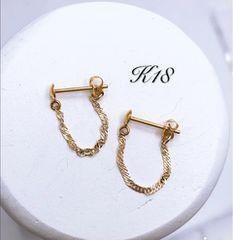 K18 ピアス