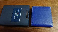 DAVIDE ALBERTARIO  紳士二つ折財布  新品未使用
