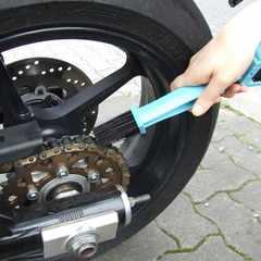 3面ブラシ(チェーンブラシ) バイクチェーンの掃除に最適