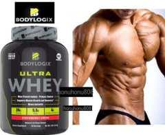 Bodylogix ウルトラ ホエイ プロテイン 特大2kg チョコ BCAA 他 アミノ酸 21種入
