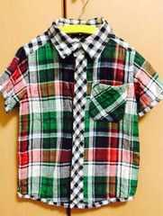 チェックシャツ!110