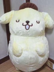 ポムポムプリンぐっすりおやすみBIGぬいぐるみ☆抱き枕40�p