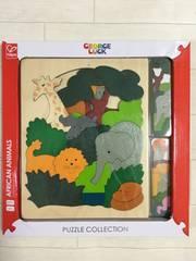 【送料無料】ジョージラック 《アフリカ》木製パズル 知育玩具