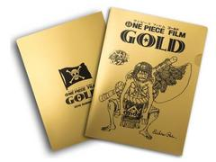 映画 ワンピース GOLD 前売り特典 金太郎ルフィ クリアファイル