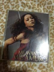 安室奈美恵 CD DVD WANT ME WANT ME 美品