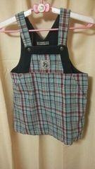 ★JUNKOKOSHINO カワイイ ジャンバースカート 高級感有 サイズ120★