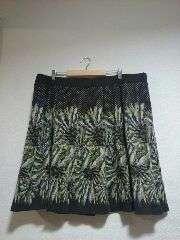 ★新品タグ6L★プリント★スカート