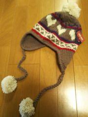 新品タグ付き/可愛いニット帽/メチャメチャ可愛い