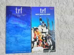 CDs trf 17才 ドラマ主題歌 '94/5 コカ・コーラCM曲 '94/6