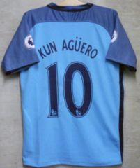 新品☆アグエロ☆マンC☆水色M10番半袖☆アルゼンチン代表クン